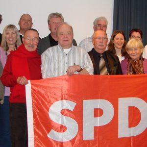 Der am 28. Februar 2007 gewählte Ortsvereinsvorstand.